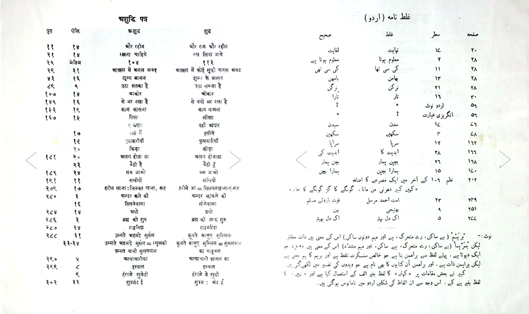 Hindi Urdu multiscript design