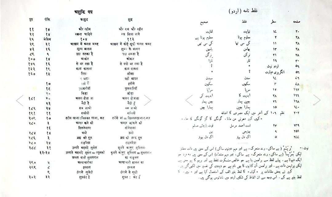 Hindi Urdu multiscript design